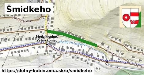 ilustrácia k Šmidkeho, Dolný Kubín - 266m