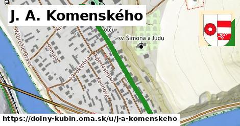 ilustrácia k J. A. Komenského, Dolný Kubín - 436m