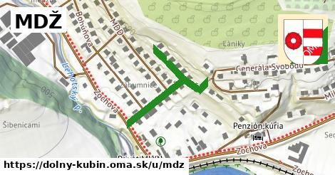 ilustrácia k MDŽ, Dolný Kubín - 319m