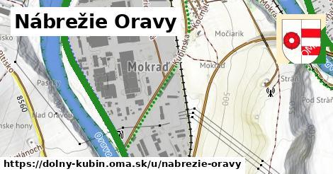 ilustrácia k Nábrežie Oravy, Dolný Kubín - 4,2km