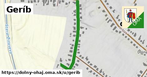 ilustrácia k Geríb, Dolný Ohaj - 614m