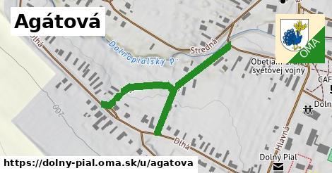 ilustrácia k Agátová, Dolný Pial - 459m