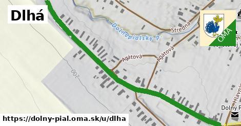ilustrácia k Dlhá, Dolný Pial - 0,84km