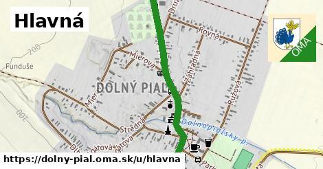 ilustrácia k Hlavná, Dolný Pial - 1,60km