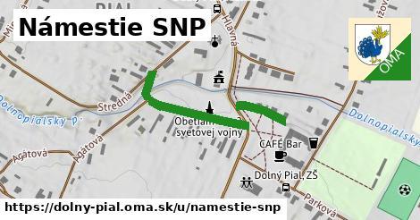 ilustračný obrázok k Námestie SNP, Dolný Pial