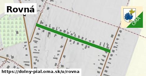 ilustrácia k Rovná, Dolný Pial - 403m