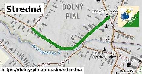ilustrácia k Stredná, Dolný Pial - 506m