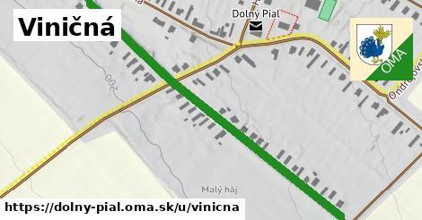 ilustrácia k Viničná, Dolný Pial - 653m