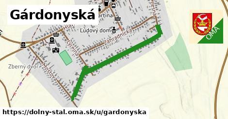 ilustrácia k Gárdonyská, Dolný Štál - 0,80km