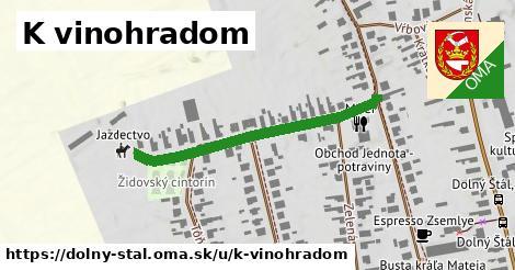 ilustrácia k K vinohradom, Dolný Štál - 366m