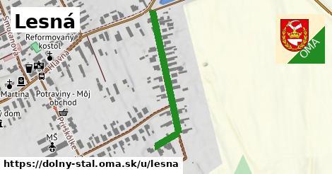 ilustrácia k Lesná, Dolný Štál - 447m