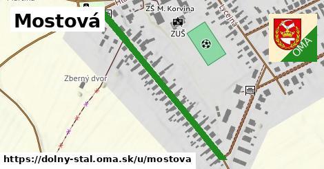ilustrácia k Mostová, Dolný Štál - 550m