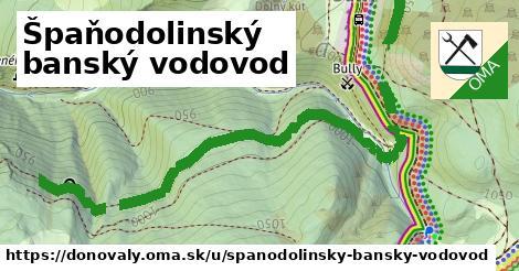 ilustrácia k Špaňodolinský banský vodovod, Donovaly - 6,9km