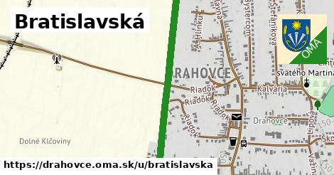 ilustrácia k Bratislavská, Drahovce - 2,9km