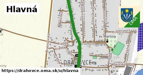 ilustračný obrázok k Hlavná, Drahovce