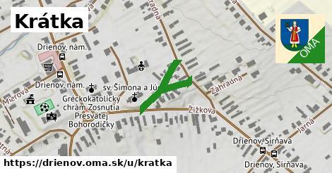 ilustrácia k Krátka, Drienov - 217m
