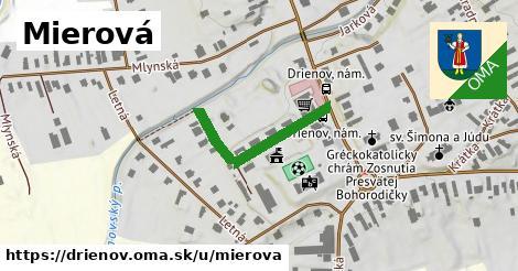 ilustrácia k Mierová, Drienov - 249m