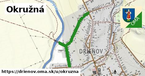 ilustrácia k Okružná, Drienov - 0,73km