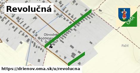 ilustrácia k Revolučná, Drienov - 310m