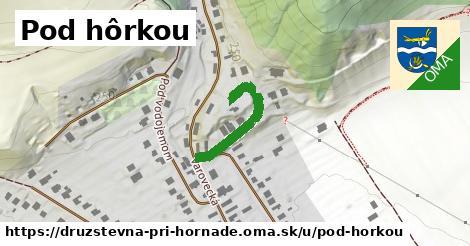 ilustrácia k Pod hôrkou, Družstevná pri Hornáde - 210m