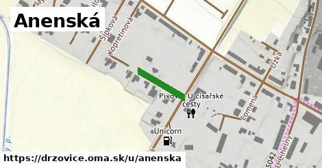 ilustrácia k Anenská, Držovice - 122m