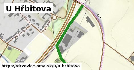 ilustrácia k U Hřbitova, Držovice - 390m
