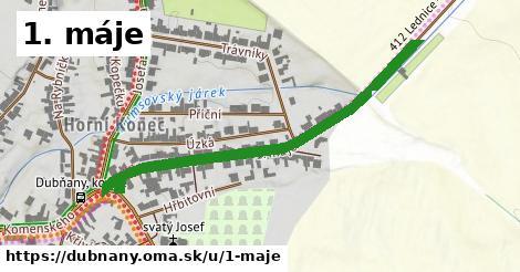 ilustrácia k 1. máje, Dubňany - 515m