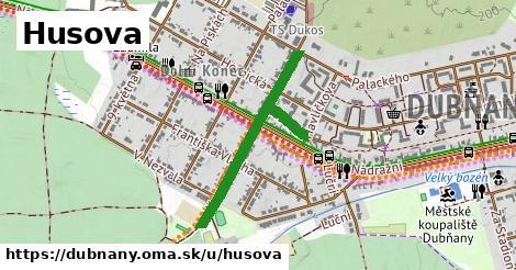 ilustrácia k Husova, Dubňany - 0,72km