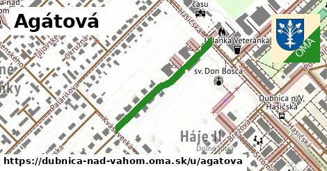 ilustračný obrázok k Agátová, Dubnica nad Váhom