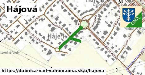 ilustrácia k Hájová, Dubnica nad Váhom - 158m