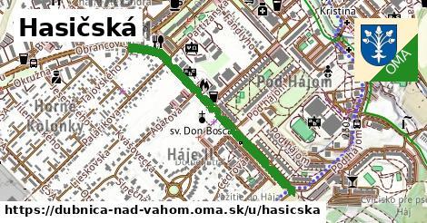 ilustračný obrázok k Hasičská, Dubnica nad Váhom
