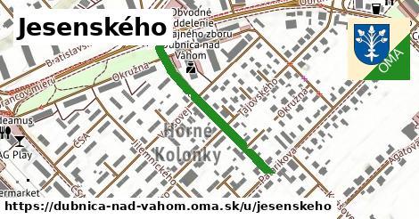 ilustrácia k Jesenského, Dubnica nad Váhom - 318m