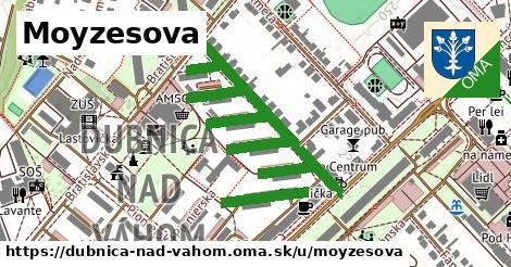 ilustrácia k Moyzesova, Dubnica nad Váhom - 0,72km