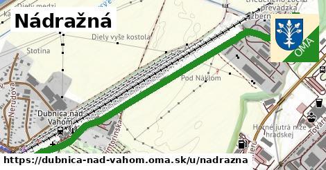 ilustračný obrázok k Nádražná, Dubnica nad Váhom