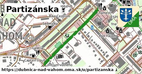 ilustrácia k Partizánska, Dubnica nad Váhom - 401m