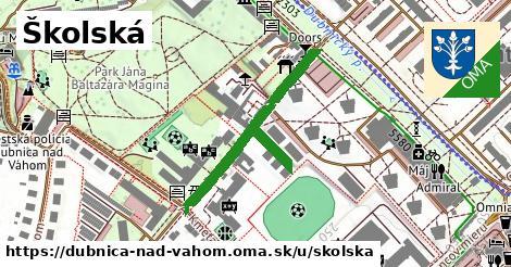 ilustračný obrázok k Školská, Dubnica nad Váhom