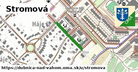 ilustrácia k Stromová, Dubnica nad Váhom - 205m