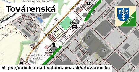 ilustrácia k Továrenská, Dubnica nad Váhom - 600m