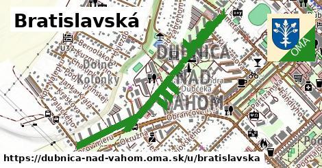 ilustrácia k Bratislavská, Dubnica nad Váhom - 1,01km