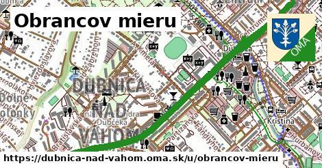 ilustrácia k Obrancov mieru, Dubnica nad Váhom - 2,9km