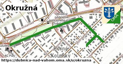 ilustrácia k Okružná, Dubnica nad Váhom - 0,74km