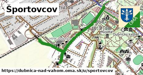 ilustrácia k Športovcov, Dubnica nad Váhom - 0,93km