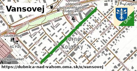 ilustrácia k Vansovej, Dubnica nad Váhom - 422m