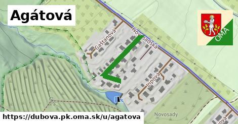 ilustračný obrázok k Agátová, Dubová, okres PK