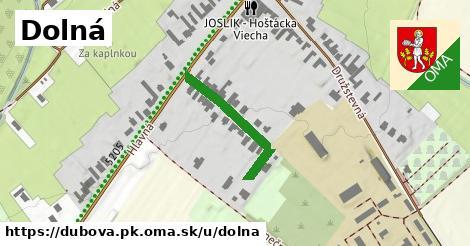 ilustrácia k Dolná, Dubová, okres PK - 193m
