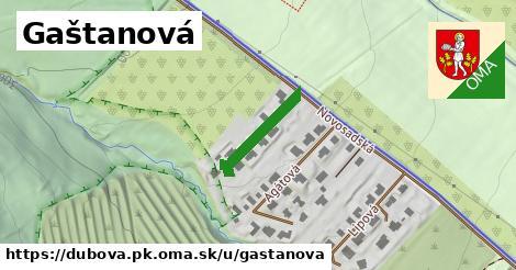 ilustrácia k Gaštanová, Dubová, okres PK - 163m