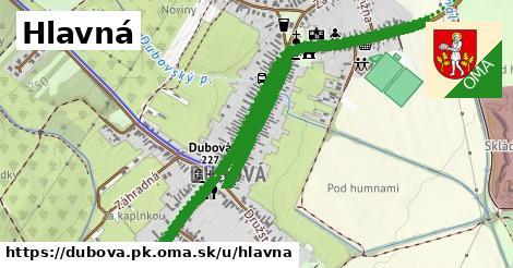 ilustrácia k Hlavná, Dubová, okres PK - 1,39km