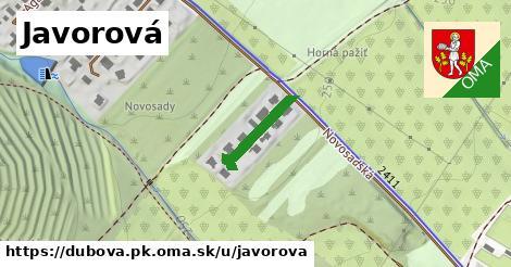 ilustrácia k Javorová, Dubová, okres PK - 128m
