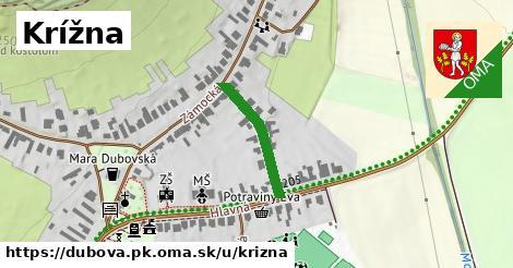 ilustrácia k Krížna, Dubová, okres PK - 188m
