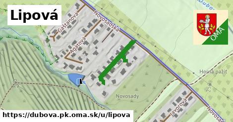 ilustrácia k Lipová, Dubová, okres PK - 183m